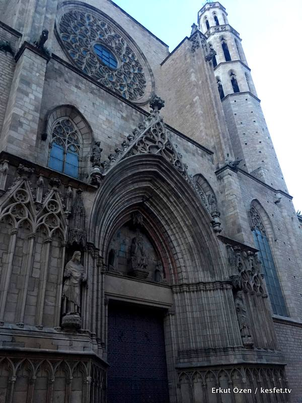 Santa maria del mar Barselona gezisi