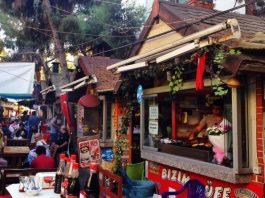 Tire Tostu sokağı