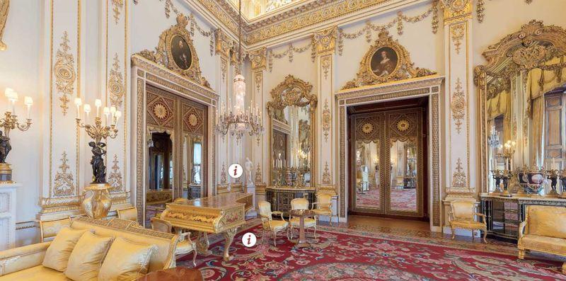 Buckingham Sarayı Beyaz Salon