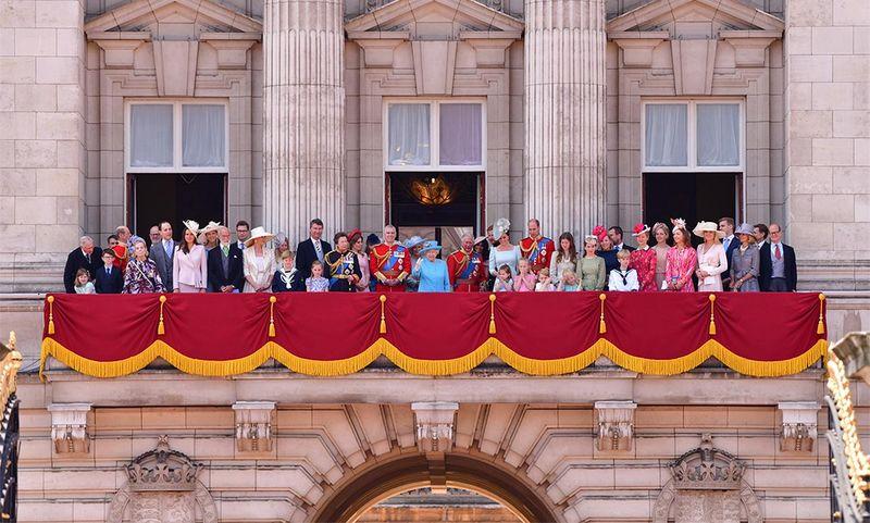Buckingham Sarayı Kraliyet Ailesi