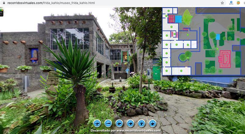 Frida Kahlo online müze
