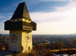 Graz saat kulesi