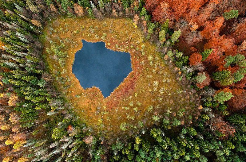 Kacper Kowalski göl fotoğrafları