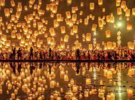 Yi Peng Festivali Chiang Mai