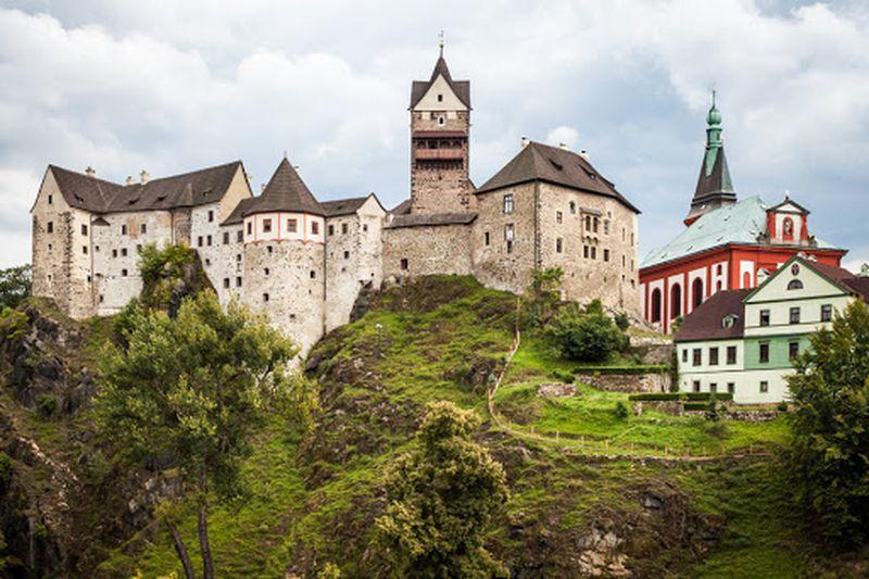 Karlovy Vary Loket Kalesi
