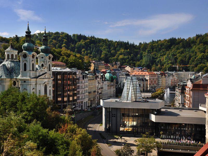 Karlovy Vary Kaplıcaları
