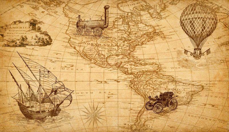 Düzmece Keşifler haritası