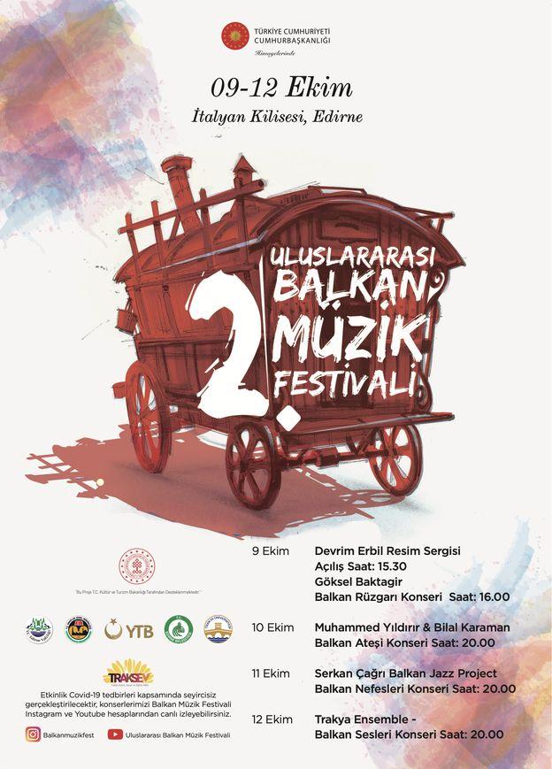 Uluslararası Balkan Müzik Festivali Programı