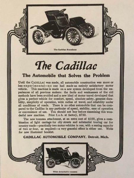 En eski Cadillac