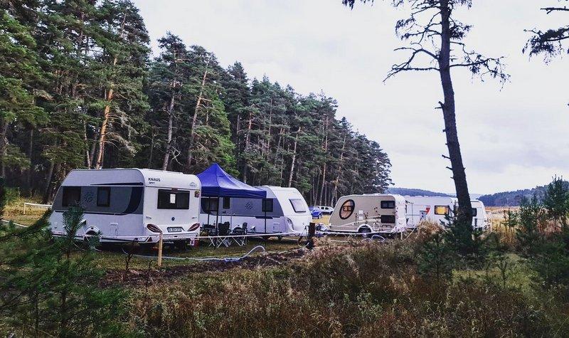 karavan kamp yerleri