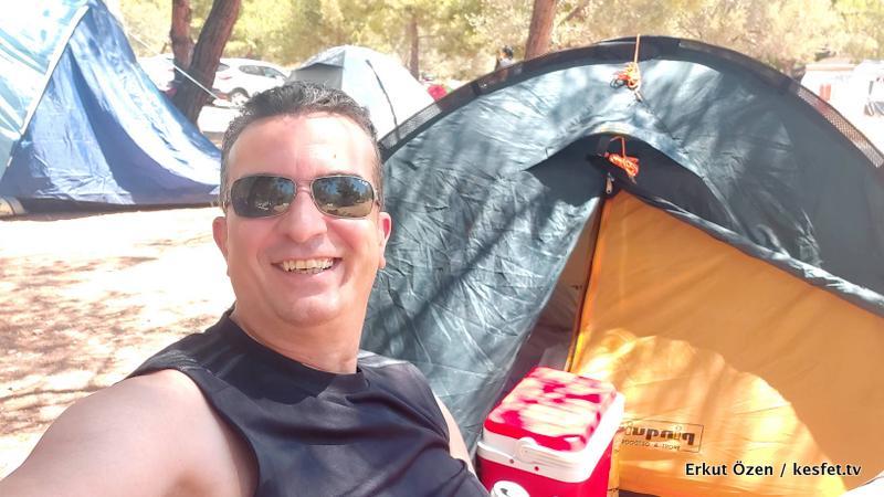 Kamp alanları Erkut Özen